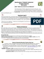 Program Bk & Year End Report