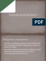Dasar Manajemen 2