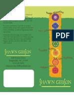 Shavonne Gibson's Brochure