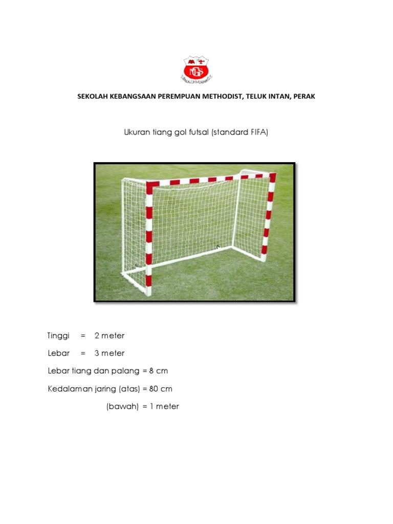 Saiz Tiang Gol Futsal