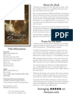 The War Master's Daughter (Media Kit)
