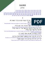 Salmo 1 (Hebreo - Español)