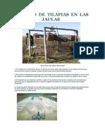 MANEJO de Jaulas Flotantes