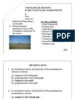 Dynamics Lecture Accl-Velocity