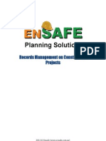 Records Management on Construction Projects