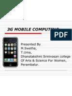3g Mobile Computing