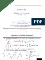 Lesson6b Fourier Transform