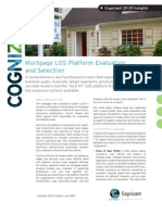 Mortgage LOS Platform Evaluation and Selection