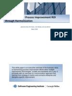 Maximizing your Process Improvement ROI through Harmonization