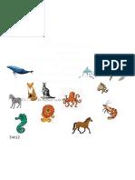 Kelaskan Haiwan Darat Dan Laut