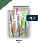 PLANIFICACION ESTRATEGICA COMPETITIVA