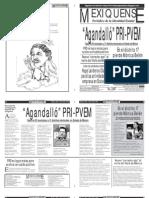 Versión impresa del periódico El mexiquense 4 julio 2012
