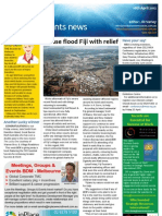 Business Events News for Mon 16 Apr 2012 - Fiji floods, golfing in Qld, DCC, SITE winner and much more