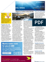 Business Events News for Mon 06 Feb 2012 - Hyatt Coolum, AIME, tech talk, Dockside and much more