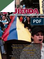 Revista izquierda no22 Mayo de 2012