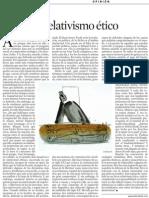 Pilar Rahola. El Relativismo ético