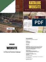BUKU SITUS, LINGKUNGAN, KESEHATAN dan INFRASTRUKTUR. Katalog Website AIr Minum dan Penyehatan Lingkungan