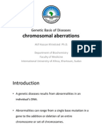 Genetic Basis of Diseases, Chromosomal Aberrations