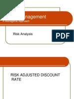 Risk Analysis II