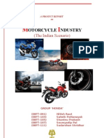 Report Motorbike Industry Group 'Honda'