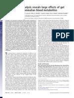 Analiza Metabolomica Dezvaluieefectele Microflorei Intestinale Aspreametabolitilor Din Sange