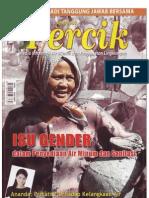 Isu Gender dalam penyelenggaraan Air Minum dan Penyehatan Lingkungan. Media Informasi Air Minum dan Penyehatan Lingkungan PERCIK Edisi April 2007.