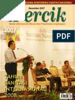 Tahun Sanitasi Internasional 2008. Media Informasi Air Minum dan Penyehatan Lingkungan PERCIK Edisi Desember 2007