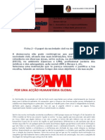 Ficha 2 - O Papel Da Sociedade Civil Na Democracia - Fernanda e Catia