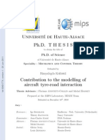 tire modelling and simulation thesis