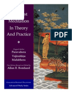 Buddhist Meditation in Theory and Practice - Vajirañāṇa Mahathera