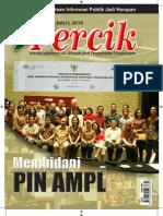Membidani Pusat Informasi Nasional (PIN) Air Minum dan Penyehatan Lingkungan. Media Informasi Air Minum dan Penyehatan Lingkungan PERCIK Edisi I Tahun 2010.