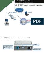 Manual de Instalação e configuração Print Server DP-301U