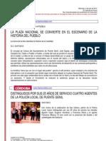 Resumen de Prensa 04-07-2012