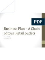 Business Plan – A Chain of toys  Retail