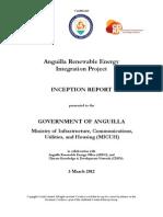 Anguilla RE Integration - Inception Report, 3-2012