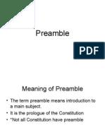 Compilation Preamble Chap 1-4
