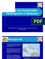 Energy and Sustainable Development in Barbados - 2009