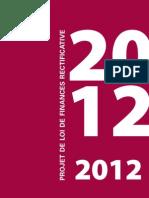Projet de loi de finances rectificative pour 2012