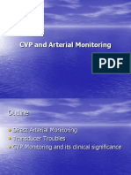 CVP and Arterial Monitoring