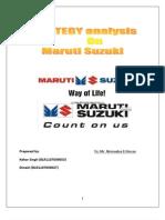 SGC Report Maruti Suzuki