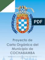 Proyecto de Carta Orgánica del Municipio de Cochabamba (Versión Final)