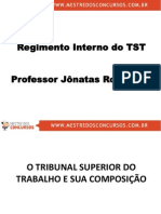 Regimento Interno TST