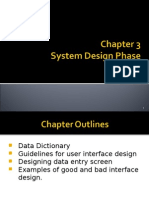 Chapter 2 System Design Phase - Part 3