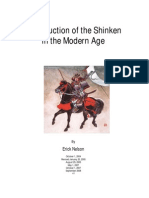 Construction of the Shinken in the Modern Age
