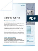 Essai de Composition Avec Publisher