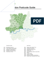 Postcode Guide Great London