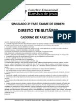 SIMULADO TRIBUTÁRIO