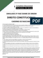 SIMULADO CONSTITUCIONAL 2012