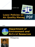 05 Laws and Policies on Air Quality Management