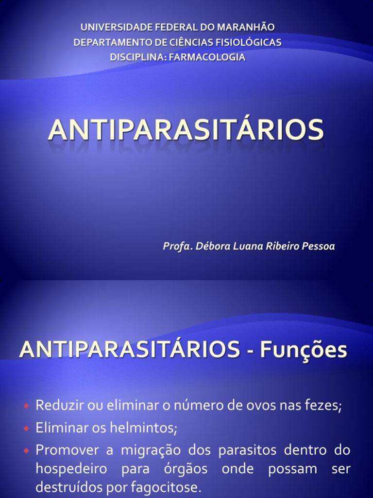 Farmacos Antiparasitarios Ebook